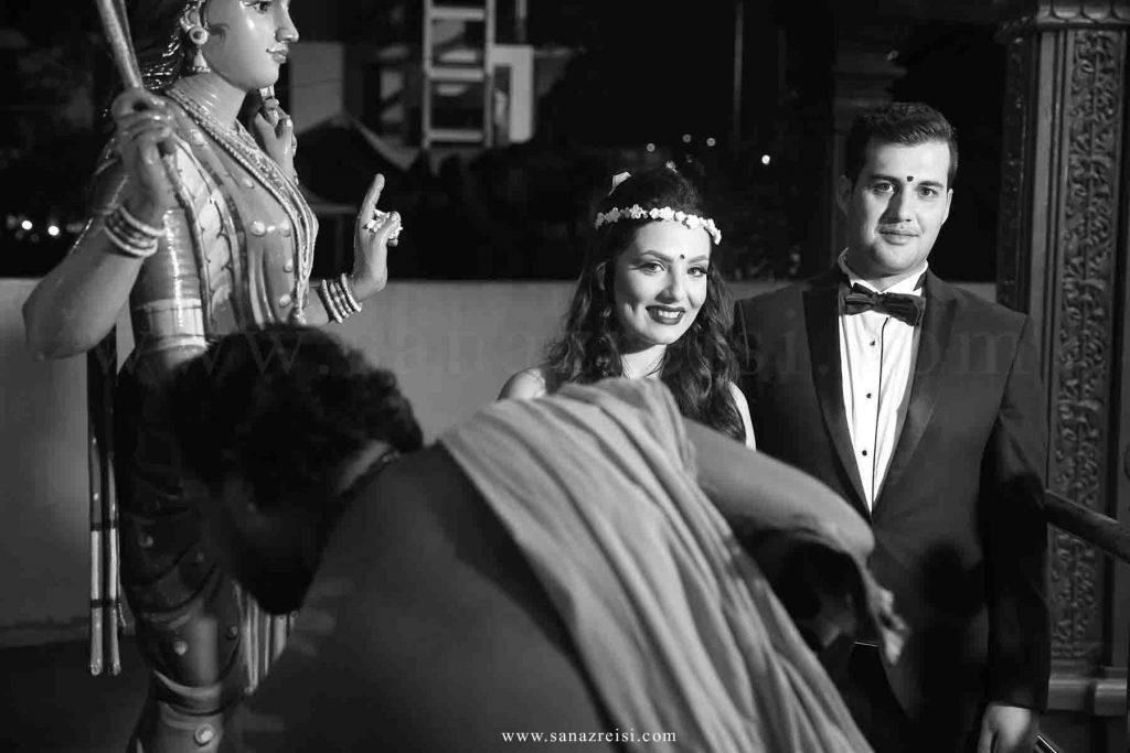 تصویر برداری عروسی هند